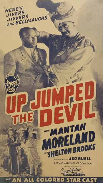 Image for Original Movie Poster.  Up Jumped the Devil.