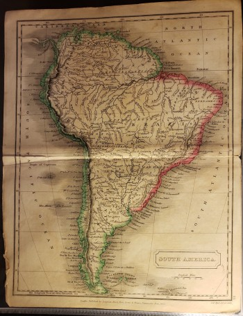"Image for Original Map - ""South America."""