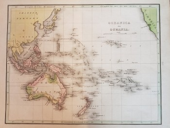 "Image for Original Map - ""Oceanica or Oceania."""