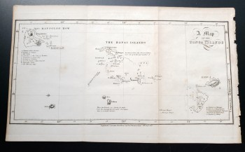 "Image for Original Map - ""A Map of the Tonga Islands"""