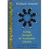 Image for Going Around in Academic Circles: A Low View of Higher Education.with Illustrations By Leo Hershfield